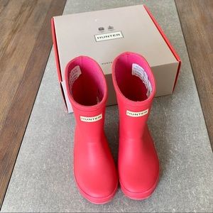 HUNTER Boots Toddler Girls size 7